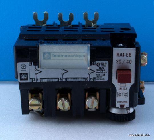 RA1-EB3040 30-40A защита от претоварване Telemecanique