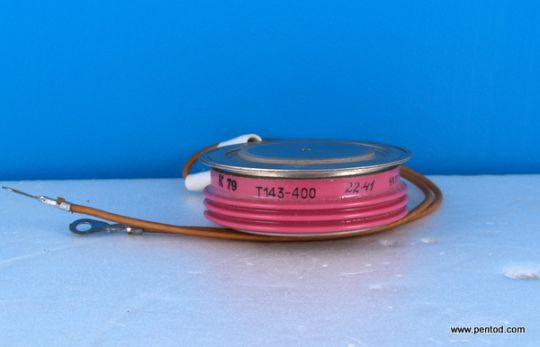 Мощен тиристор 400A  2200V     Т143-400-22- 41