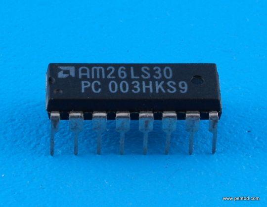 AM26LS30PC Двойна диференциална RS-422 Дуплексна линия/ четири единични крайни RS-423 линейни драйвера