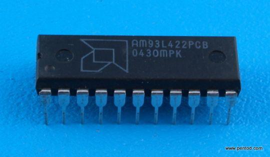 AM93L422PCB 256 x 4-Bit Low Power TTL Bipolar IMOX RAM