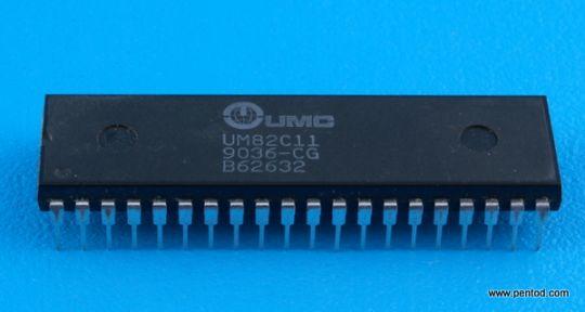 UM82C11 Програмируем паралелен принтерен  интерфейс