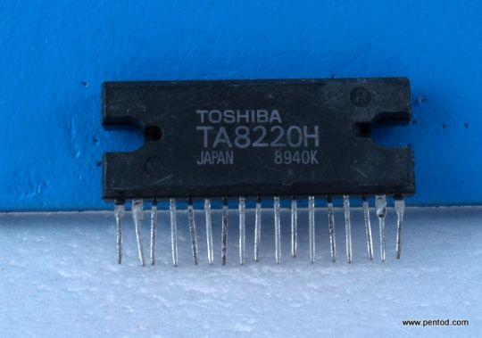 TA8220H 30W × 2 канала усилвател на мощност