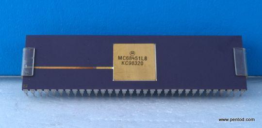 MC68451L8 8-BIT MPUS, 8-BIT MCUS, 8-BIT PERIPHERALS