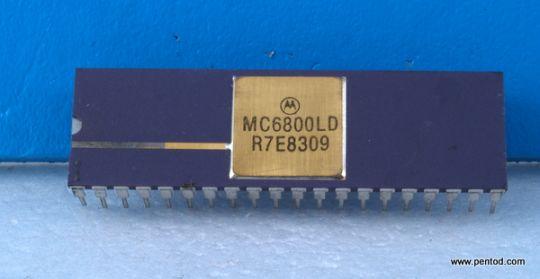MC6800LD 8-BIT MICROPROCESSING UNIT (MPU)