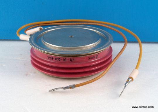 Тиристор  Т153-800-16 41  800A 1600V