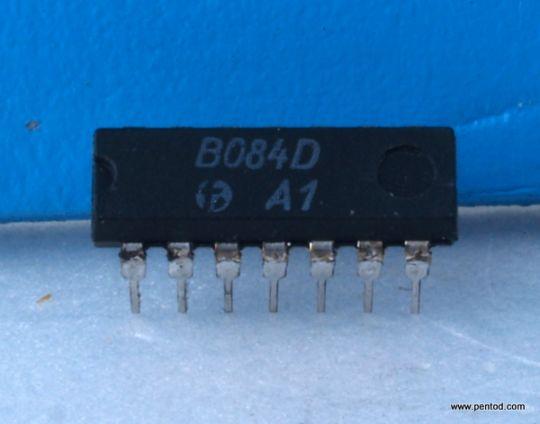 B084D 4 операционни усилвателя с общо предназначение