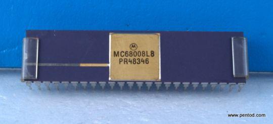 MC68008L8 микропроцесор Motorola