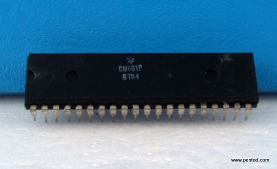 Интегрална схема микропроцесор  СМ601Р  / MC6800L  HD6800; EF6800 /