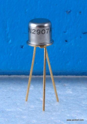 Транзистор 2N2907A PNP 0.6A 60V 200MHz 0.4W