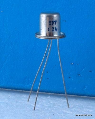 Германиев транзистор SFT124  PNP  0.5A 24V 0.5MHZ