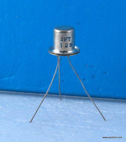 Германиев транзистор SFT125 0.5A 24V 1MHZ