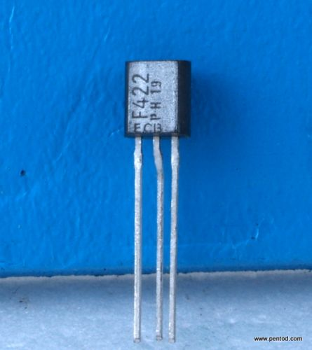 Транзистор BF422 NPN 25/50mA 150V 60MHz  0.83W Philips