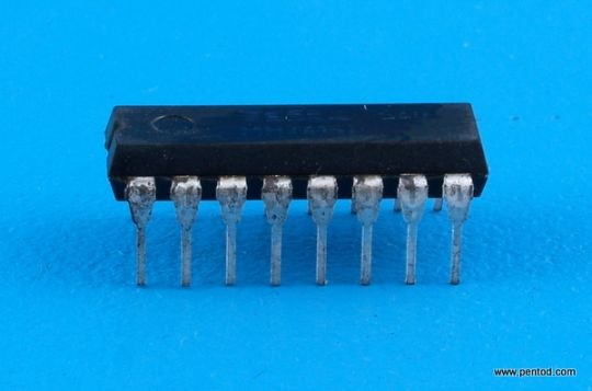 Интегрална схема TTL  74F74N  / 7474 / DIP14