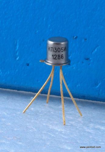 Транзистор полеви КП305И N-канлен 250MHz 15V 15mA 0.15W