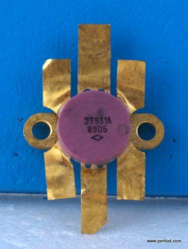 Мощен високочестотен транзистор 2Т931А / КТ931А /  СССР