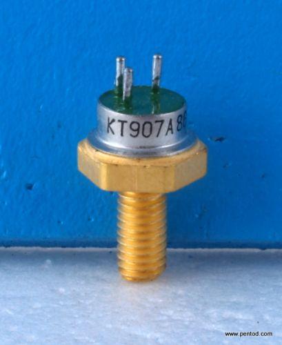 Мощен високочестотен транзистор  КТ907А  / 100-400 MHz  13W    СССР