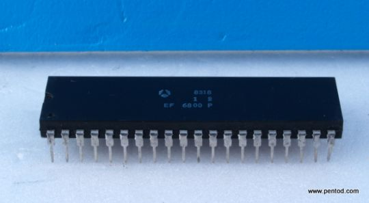 EF6800 8-bit data bus