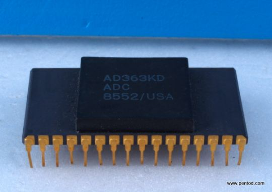Integrated circuit  AD363KD ADC Analog devic