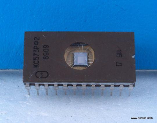 Интегрална схема  EPROM  КС573РФ2  /2716 / СССР