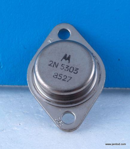 Транзистор 2N5303 NPN 20A 80V 2MHz 200W Motorola