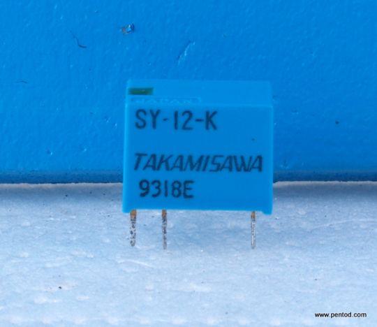 Реле SY-12-K  12V DC