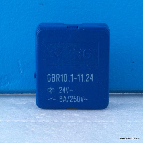 Реле GBR10.1-11.24  250V 8A бобина 24V  RFT