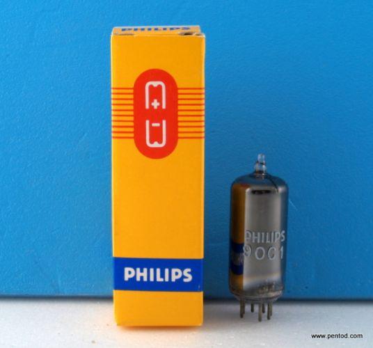 Радиолампа 90C1 стабилизатор на напрежение 90V  PHILIPS