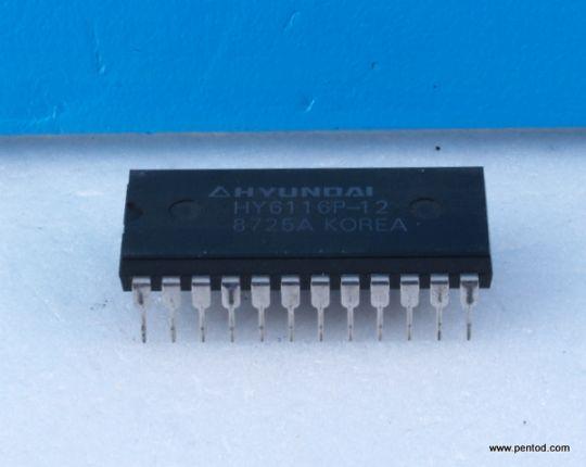 HY6116P-12 2048 x 8 Bit CMOS Static SRAM