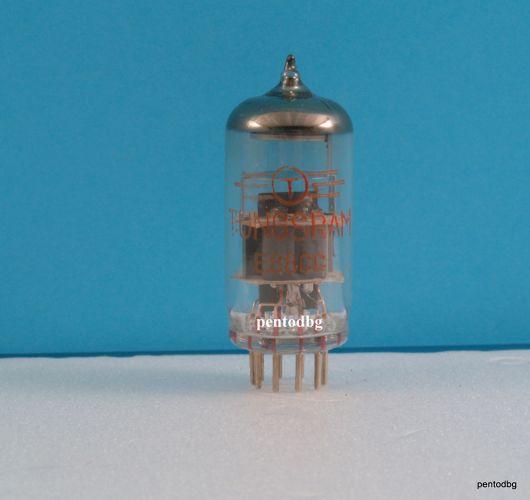 Радиолампа  E88CC  / Е88СС/ двоен триод аудио TUNGSRAM