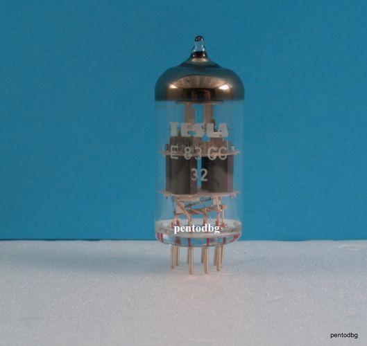Радиолампа  E83CC  / Е83СС/ двоен триод аудио TESLA