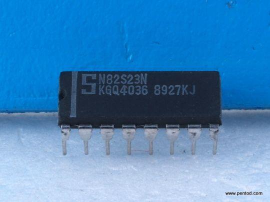 N82S23N 256-Bit TTL Bipolar PROM