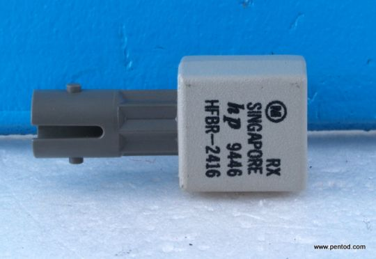 HFBR-2416 Low cost, miniature fiber optic component with ST port