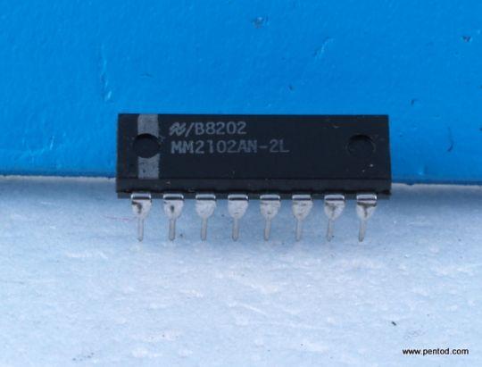 Интегрална схема памет MM2102AN-2L Static RAMs