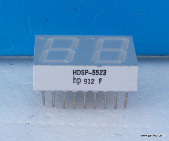 HDSP-5523 Seven Segment Displays