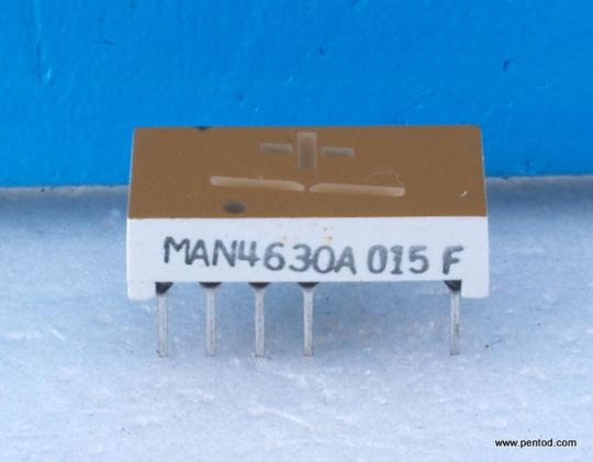 MAN4630A Seven Segment Displays