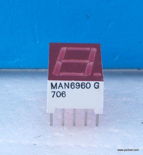 MAN6960G Дисплей