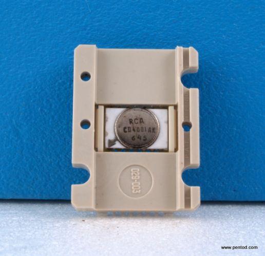 CD4001AK Quad 2-input NOR RCA