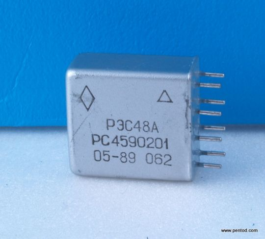 Реле РЭС48А РС4.590.201