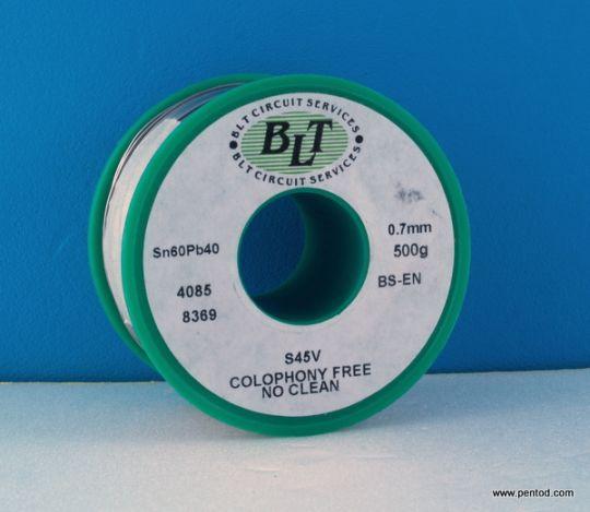 ТИНОЛ ОЛОВЕН 0.7mm BLT Sn60Pb40 0.5кг.