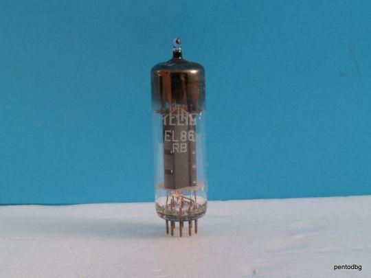 Радиолампа  пентод EL86 Telam