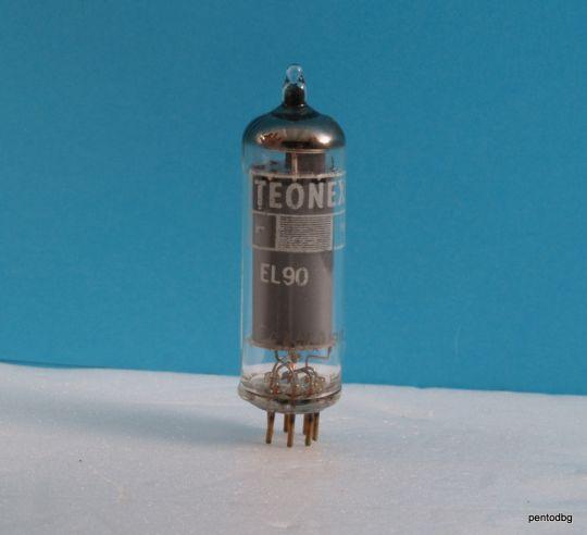Радиолампа  EL90  Teonex