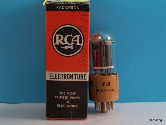 Радиолампа фотоумножител  IP28 RCA