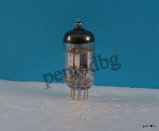 Радиолампа 6Х2П  двоен детекторен диод  СССР