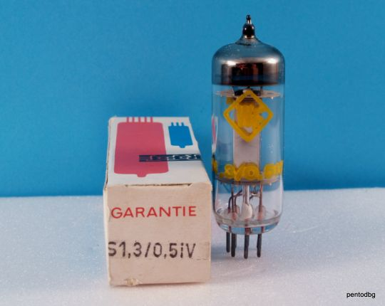 Радиолампа S1,3/0,5iV   тиратрон  RFT