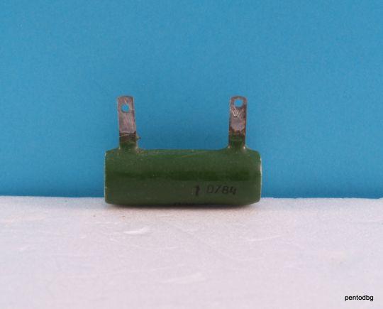 Резистор жичен   1,3KΩ 10% 10W  ПЭВ-10   влагоустойчив СССР