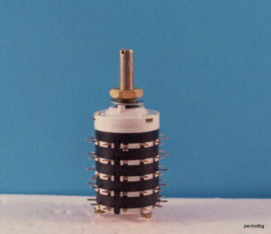 Галетен превключвател ПГС350Б  5 секции 11 позиции