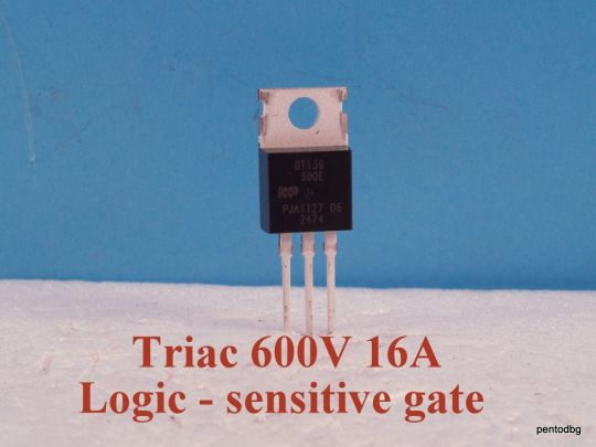 Triac  BT139-600E  16A  600V   NXP