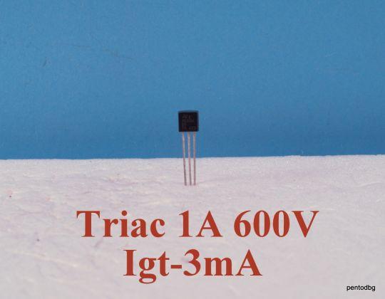Симистор / триак / Z0103MA  1A  600V  IGT-3mA   ST