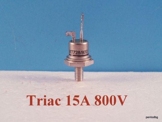 Симистор / триак /  KT728/800  15A  800V  Tesla