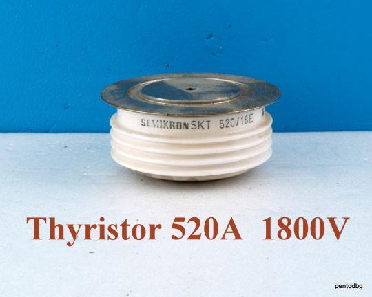 Тиристор SKT520/18E  520A 1800V  Semikron